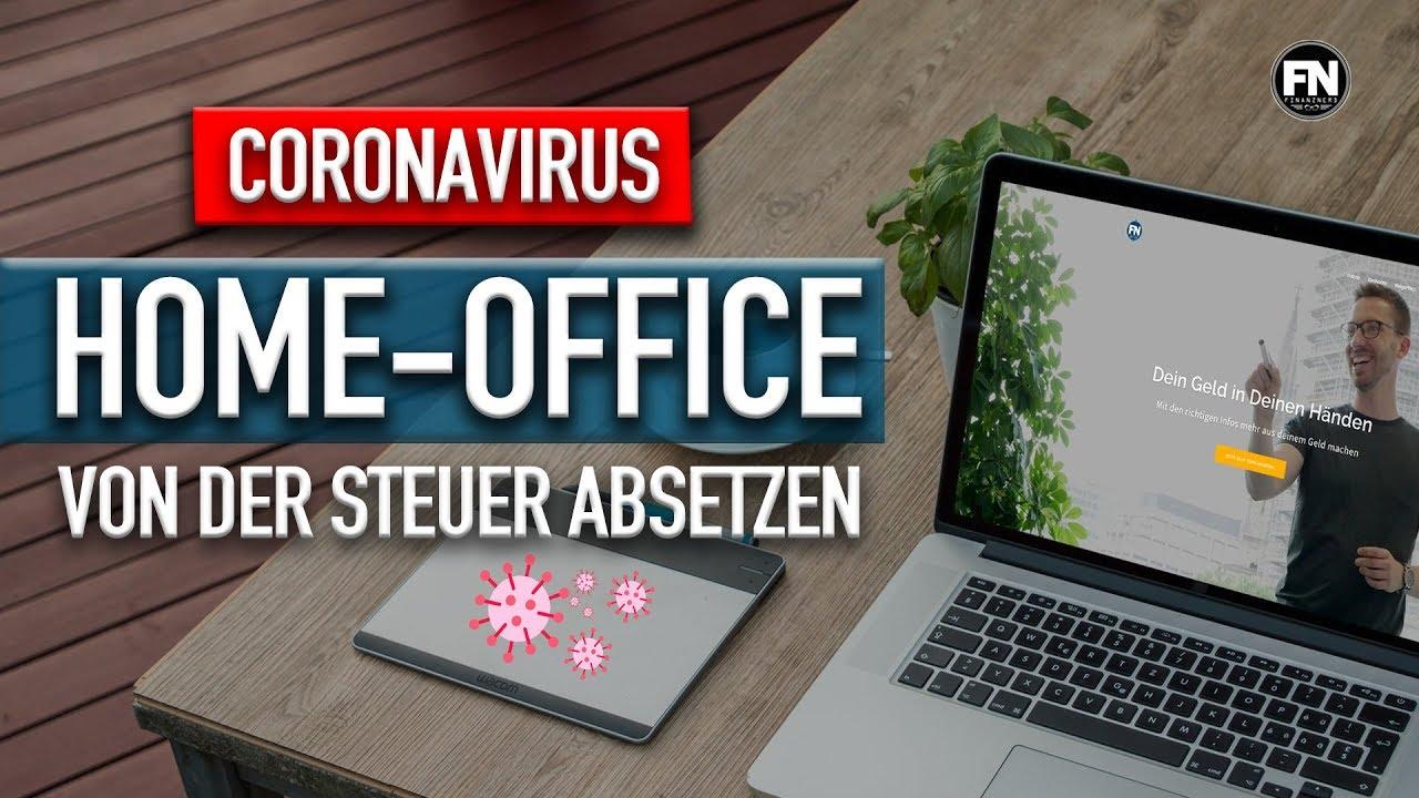 Home Office durch Corona - das kann man absetzen ! Home ...