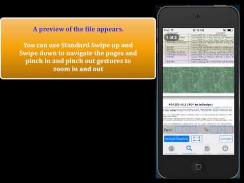 PDF to PowerPoint - Convert PDF to PowerPoint using PDF2Office for iPhone
