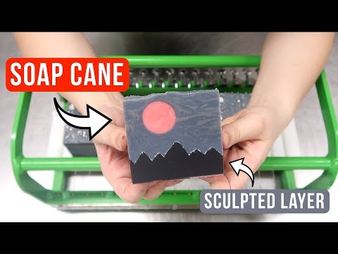 Trying 2 New Soap Techniques  Harvest Moon Custom Soap  Royalty Soaps