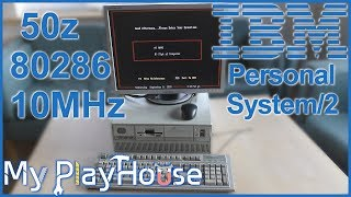 1988 - IBM PS/2 Model 50z Cleaning, Overview and Testing - 761