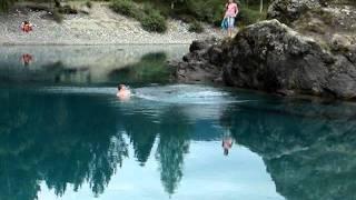 голубые озера 3(незамерзающие круглый год озера с постоянной температурой +4-5 градусов., 2012-01-16T07:38:30.000Z)