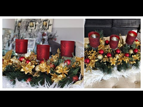 INEXPENSIVE CHRISTMAS GLAM DECOR ✨