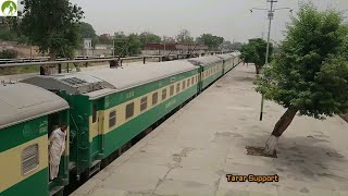 Traveling Pakistan By Train Faisalabad to Lahore Railroad Journey 2018