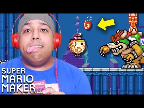 FIRST OF ALL.. UNDERWATER.. SECOND OF ALL.. NEXT!! [SUPER MARIO MAKER] [#184]
