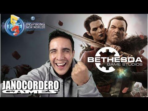 E3 2016 - Conferencia de prensa Bethesda (Reacciones)
