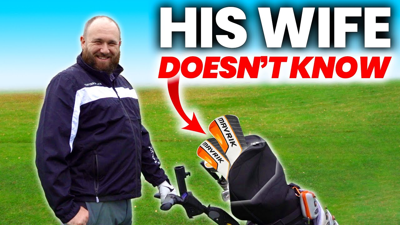 HE SPENT $2000 ON NEW GOLF CLUBS WITHOUT TELLING HIS WIFE!