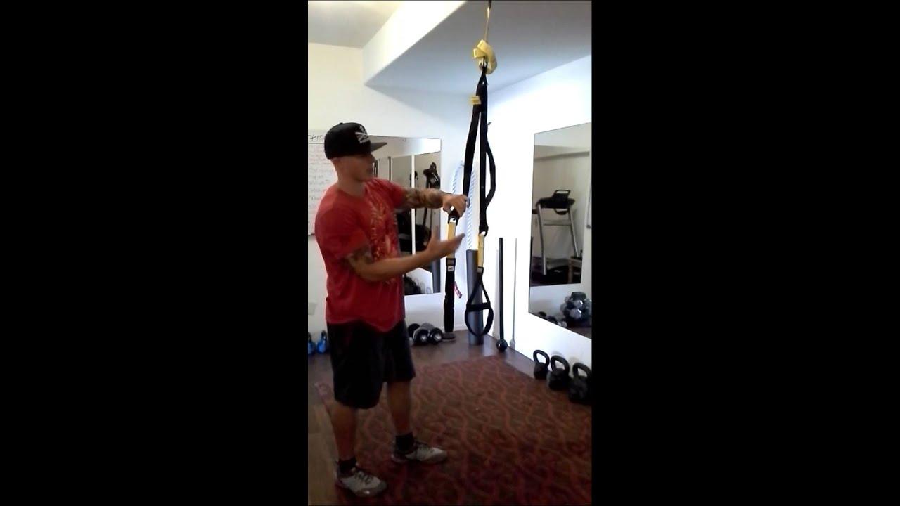 Trx home gym set up youtube