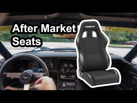 Corbeau A4 Seats in a C3 Corvette