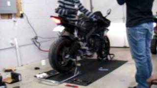 Yamaha YZF-R6 Leo Vince SBK Carbon Full Exhaust Install