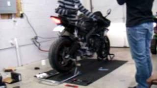 Yamaha YZF-R6 Leo Vince SBK Carbon Full Exhaust Install