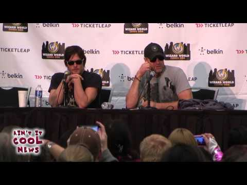 The Walking Dead Q&A with Norman Reedus and Michael Rooker