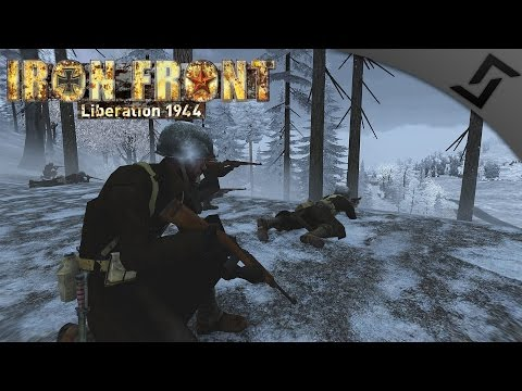 Battle of the Bulge - ARMA 3 Iron Front WW2 Mod - US Infantry