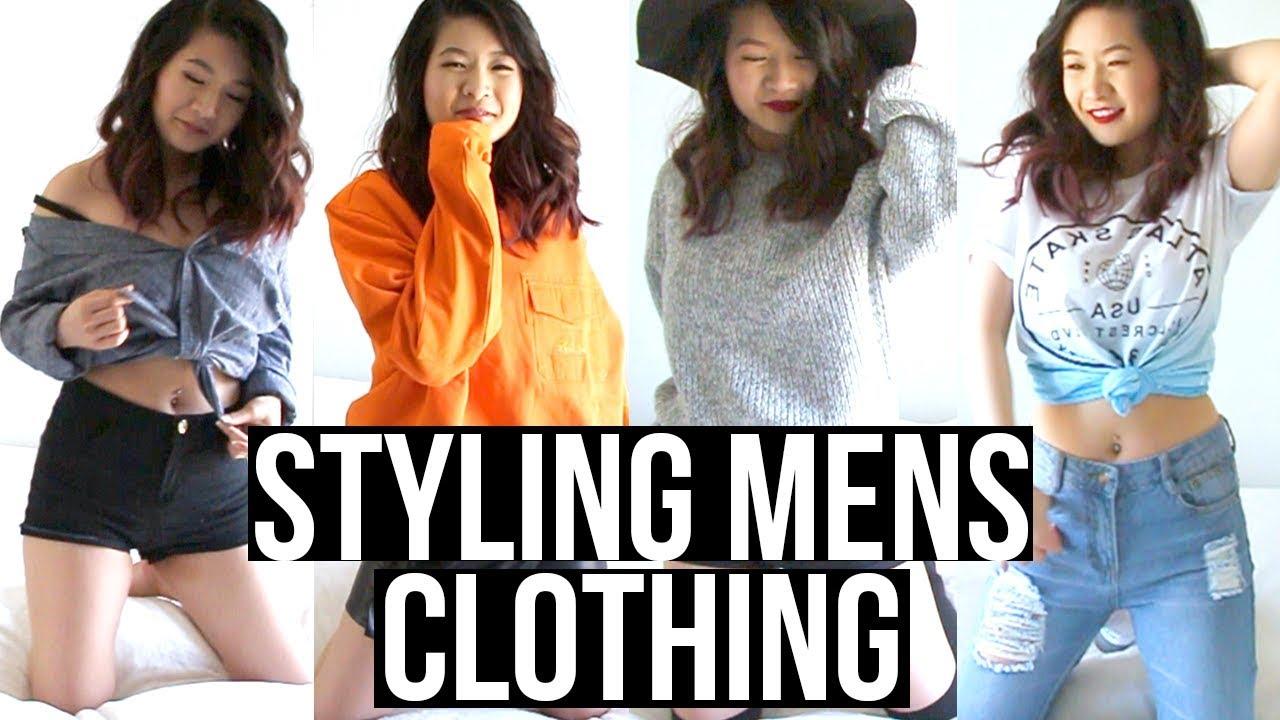 HOW TO STYLE MENS/BOYFRIEND CLOTHING  | Eva Chung