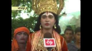 ANOKHI RAMLEELA  AT JAGADISHPUR OF BHOJPUR IN BIHAR_PUKHRAJ