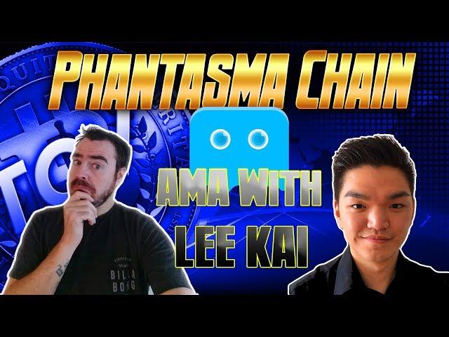 AMA with Phantasma Chain's Lee Kai + 500 SOUL Giveaway!