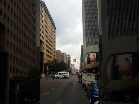 Crisis around Johannesburg CBD now