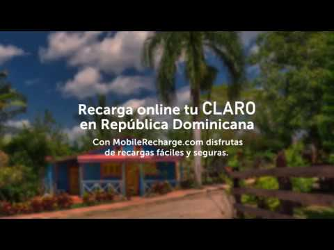 How to make a Claro recharge from any country and get