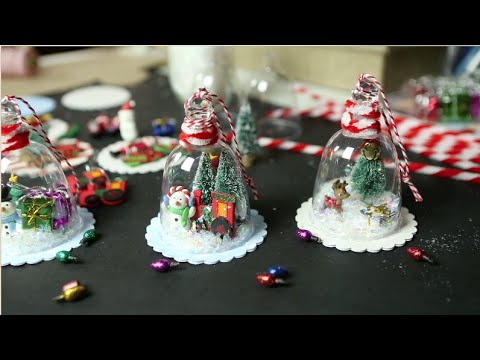 DIY Christmas | Vintage Jelly Jar Tree Ornaments