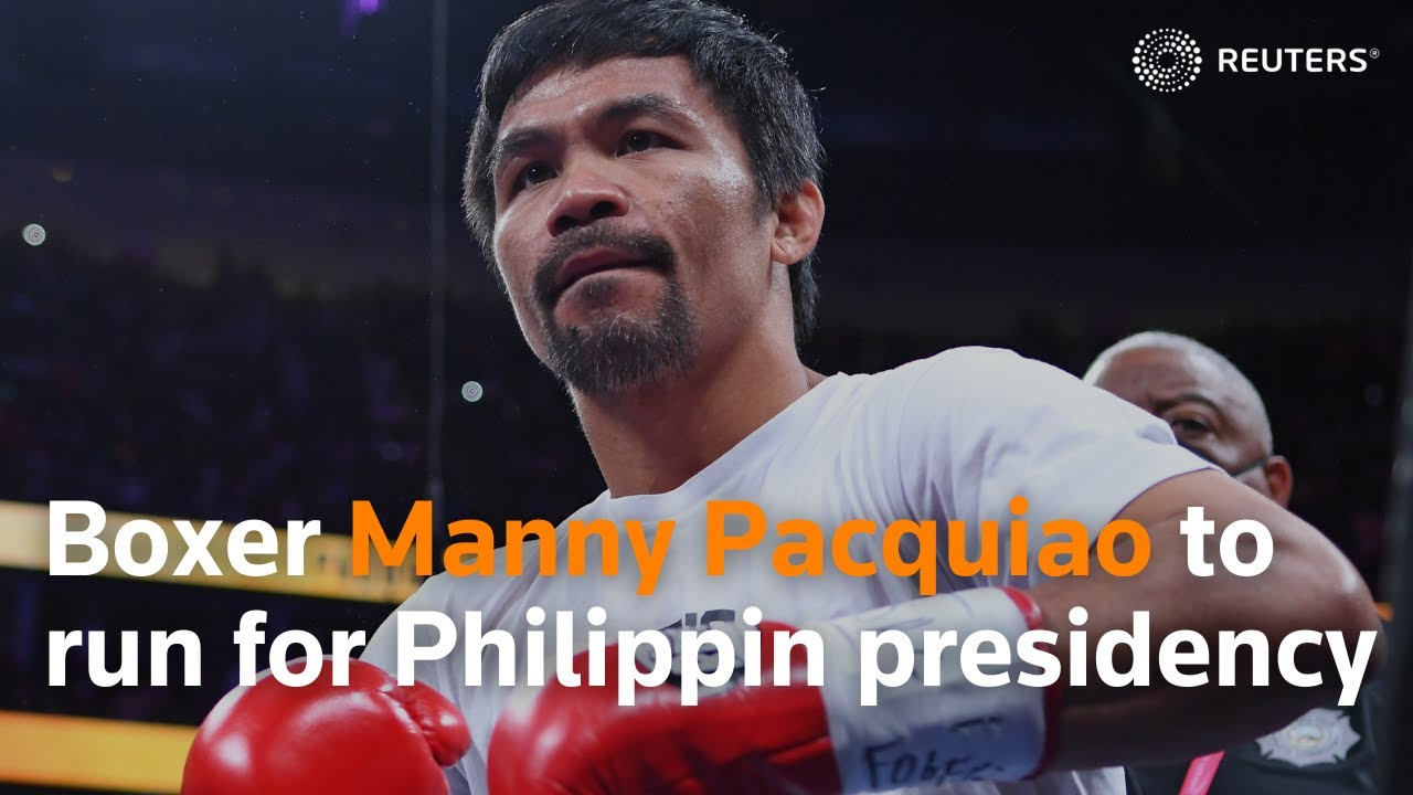 Download Boxer Manny Pacquiao to run for Philippine presidency