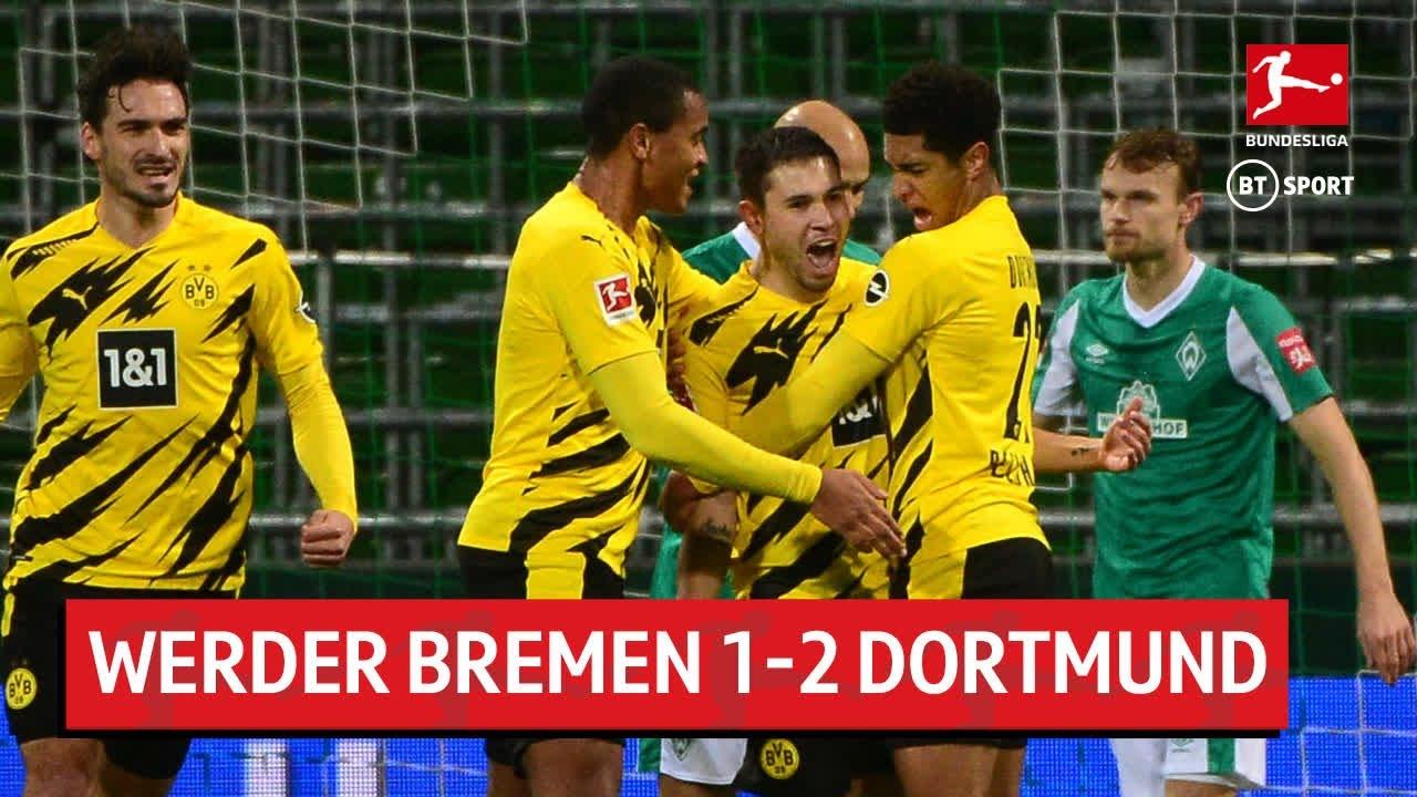 Werder Bremen Vs Borussia Dortmund 1 2 Bundesliga Highlights The Global Herald