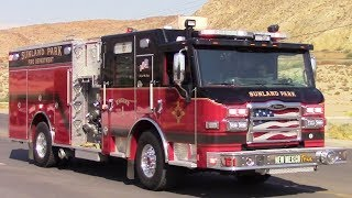 Sunland Park Fire Dept. New Engine 1 Responding thumbnail
