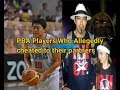 PBA PLAYERS WHO ALLEGEDLY CHEATED TO THEIR PARTNERS