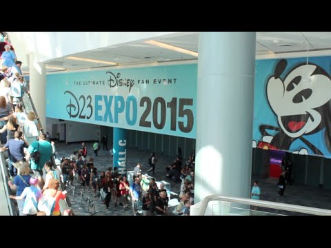 D23 Expo 2015 : Anaheim Convention Center - Going FULL Disney