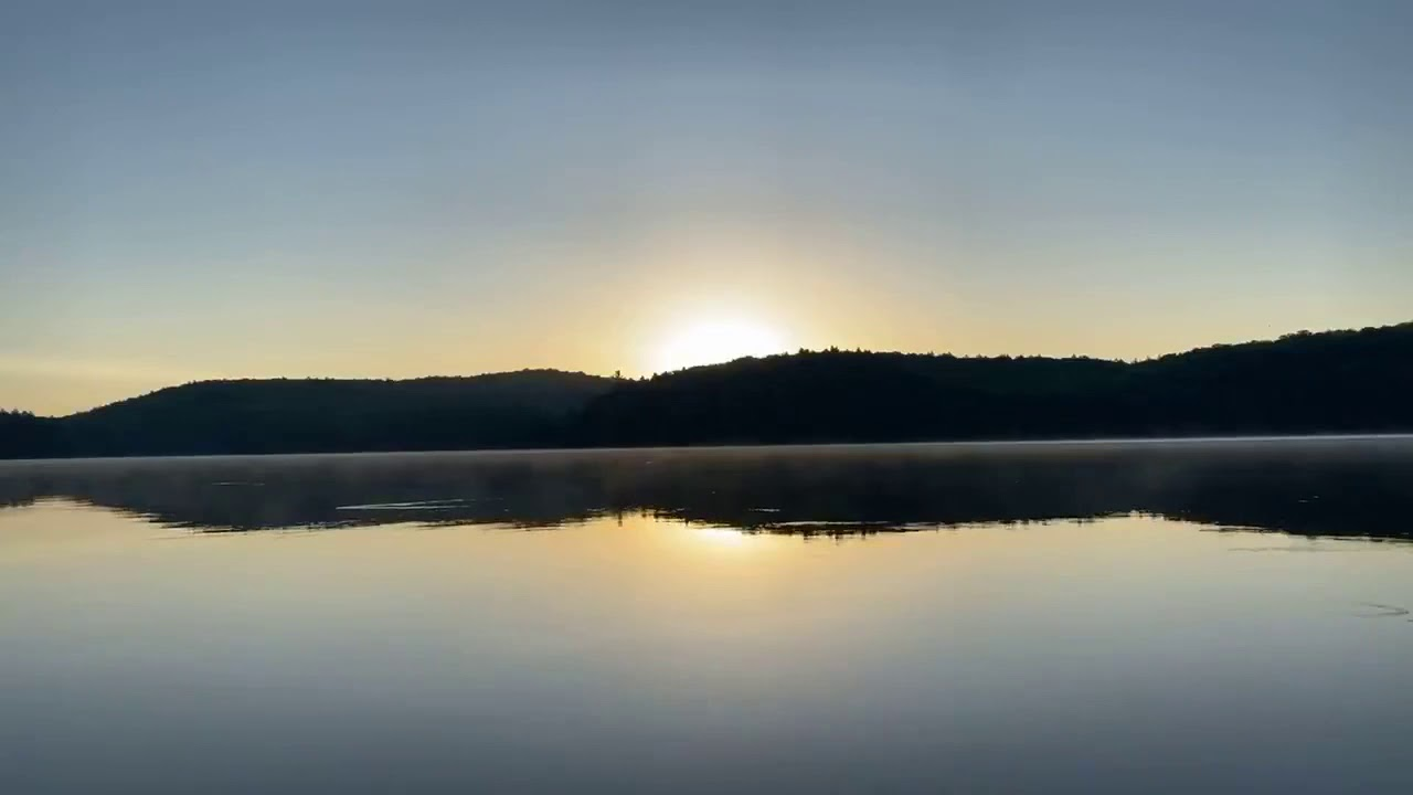 SUNRISE NATURE MEDITATION ~ Algonquin Park Canada