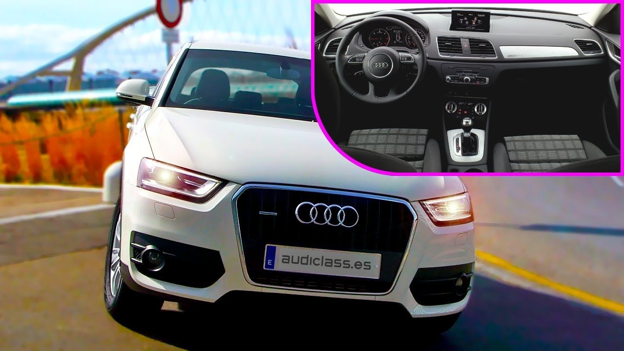 audi q3 review - interior view hd images - video review - bewertung - old chapter 1