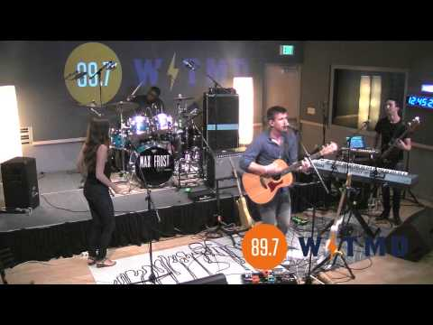 """Max Frost - """"White Lies"""" Live on 89.7 WTMD"""