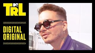 J Balvin Talks Sneakers w/ Tamara Dhia at ComplexCon | TRL Weekdays at 4pm