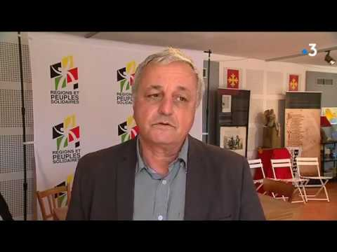François Alfonsi a l'Ostal Occitan de Nabona