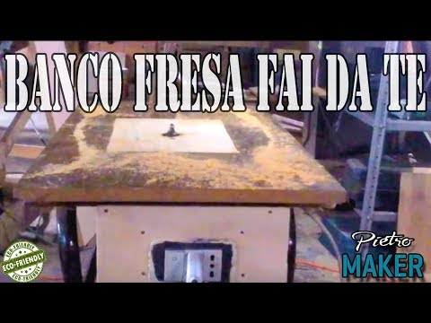 🔴 DIY WOODWORKING ➡ Build a router bench counter with the manual pantograph