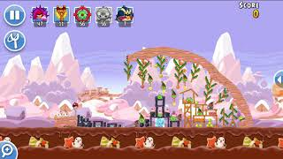 Angry Birds Friends 28th Dec 2017 Level 1 SANTACOAL & CANDYCLAUS TOURNAMENT