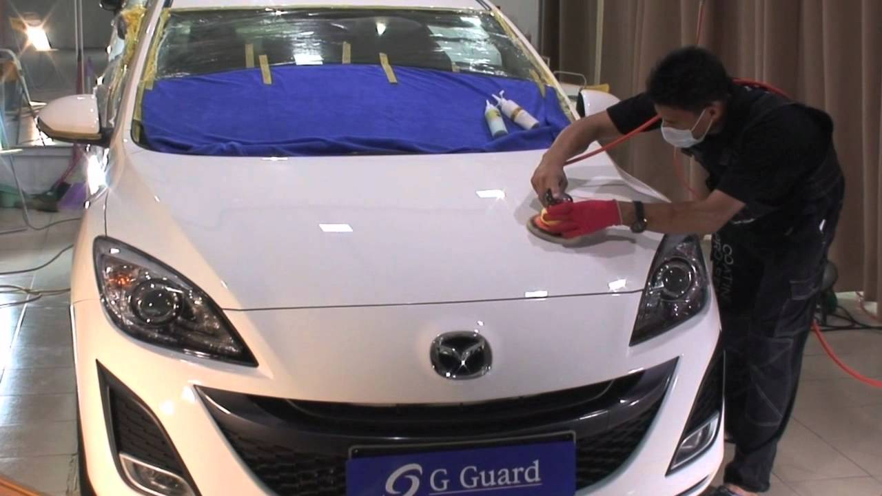 G Guard Car Polish Coating Detailing Malaysia Mazda - Mazda detailing