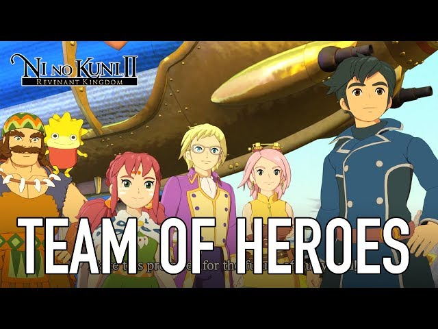 Ni No Kuni II: Revenant Kingdom - PS4/PC - Team of Heroes (English)