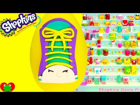 Shopkins Season 3 Sneaky Sally Play Doh Surprise Egg