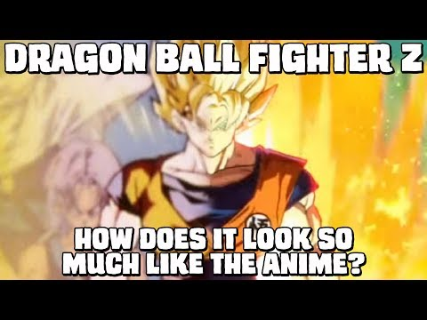 Why does Dragon Ball Fighter Z look so much like the anime? Animation breakdown