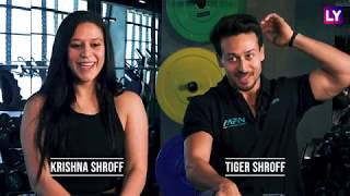 Krishna Shroff & Tiger Shroff On Father Jackie Shroff's Humbleness & What Makes Him Ultimate Bheedu