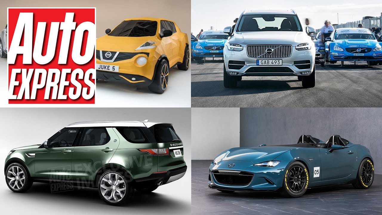 Land Rover Discovery for 2017 origami Juke Polestar XC90