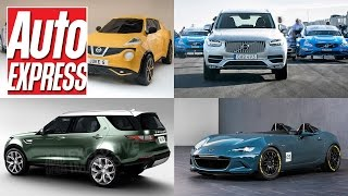 Land Rover Discovery for 2017, origami Juke, Polestar XC90 upgrades - Car news in 90 seconds