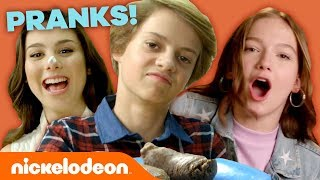 Top 10 Nickelodeon PRANKS! 💩 w/ Jace Norman, Jayden Bartels & All That | Nick