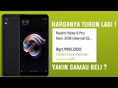 Unboxing Xiaomi Redmi Note 5 Harga Tinggal 1,9 Jutaan