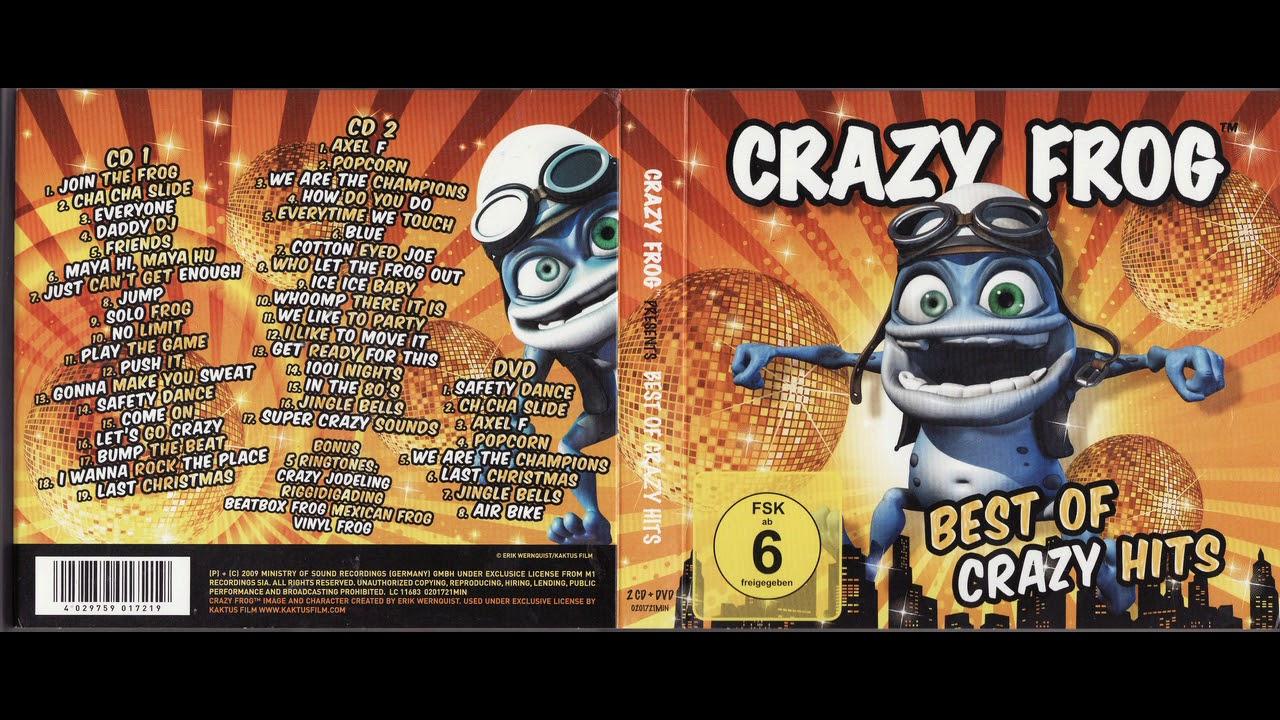 cd crazy frog 2009
