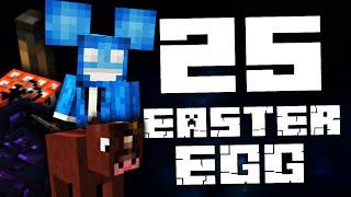 25 EASTER EGGÓW W MINECRAFT!