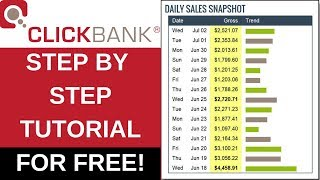 Clickbank for beginners tutorial showing you how to make money online in 2019 free! won't need spend any on the university or ...