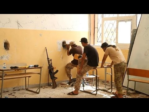 Libya forces resume anti-IS assault in Sirte after lull