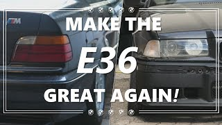 Pare-chocs M3 et Phares - MAKE THE E36 GREAT AGAIN! #2