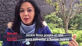 Jackie Nava y su regreso al cuadrilátero