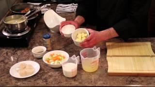 Cream Of Celery Soup & Scallops : Scallop Recipes